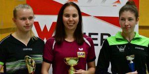 Wiener Tischtennis Meisterschaft 2018 | Sophie Schuster (LSV) - 1. Platz U21 Einzel (c) Werner Gschanes