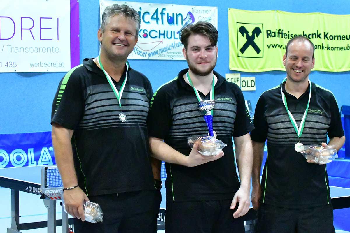 LSV - Lehrer-Sport-Verein Tischtennis Mitglieder| (c) Werner Gschanes