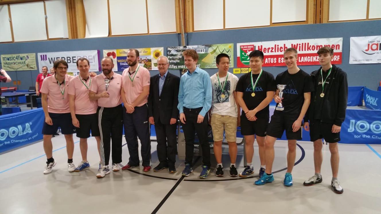 Wiener Tischtennis Cup 2019 | 2. Platz für LSV im Bewerb B